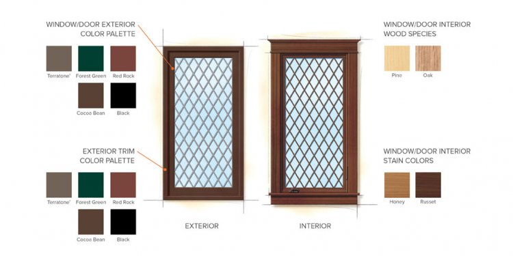 Andersen Windows: Tudor Home Style Window Color Finishes | Home