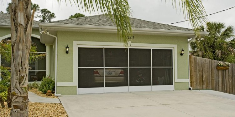 Garage: Wonderful garage screen door ideas Garage Door Screen