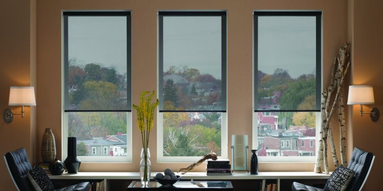 One way window shades - The Finishing Touch